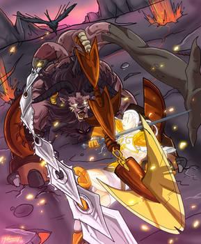 Valiant's Beastly Encounter
