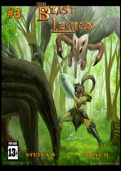 Beast Legion Issue 3 Cover