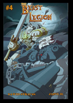 Beast Legion issue 4 cover