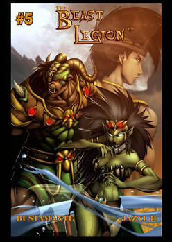 Beast Legion 5 cover