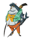 Cruger Flubb second pirate guy