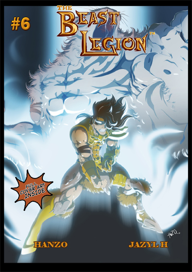 Beast Legion 6 Cover by JazylH