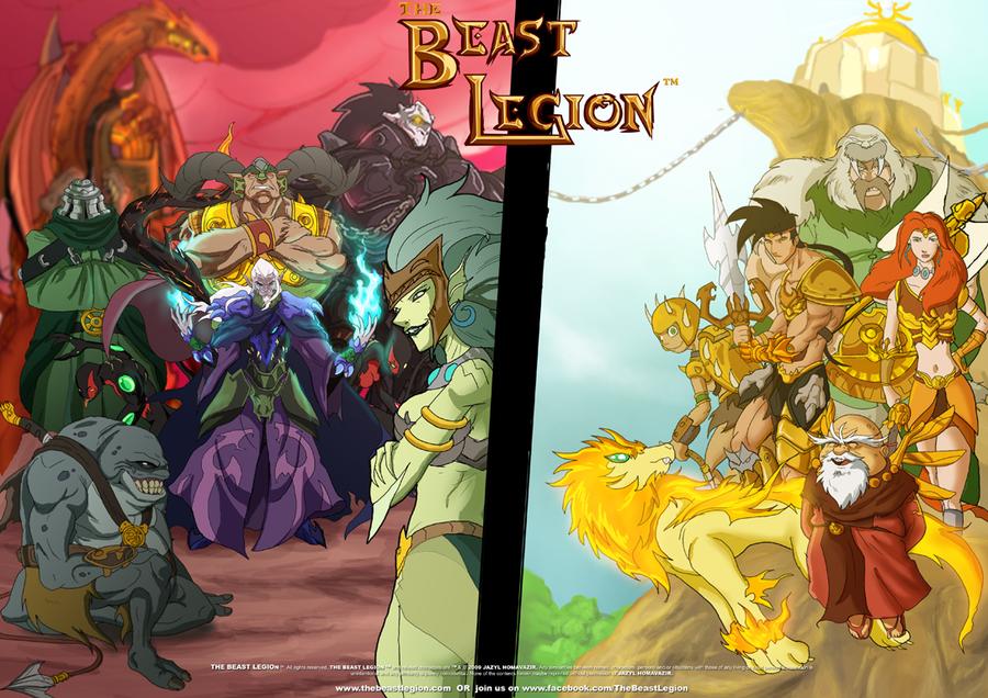 Beast Legion All Star Poster by JazylH
