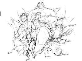 Aizen and Espadas rough