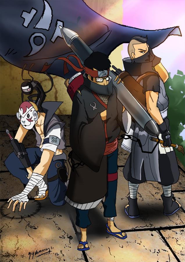 Naruto OC Hidden Paint ninja