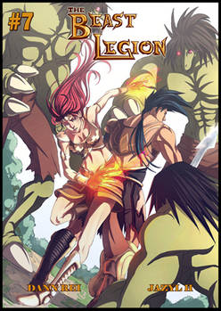 Beast Legion 07 cover by Dann Rei