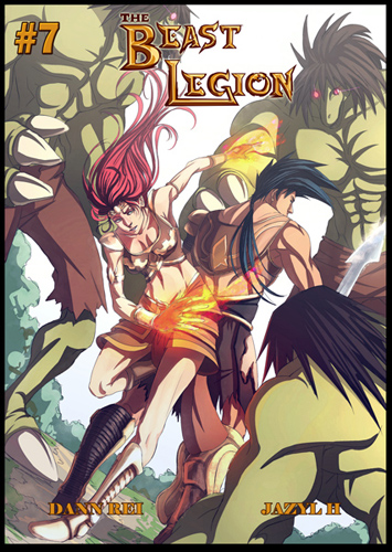 Beast Legion 07 cover by Dann Rei by JazylH