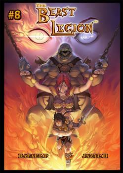 Beast Legion #8 Cover by Rafael Perry