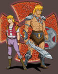 He-man Anime Style Redesign