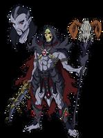Skeletor Anime-Style redesign by JazylH