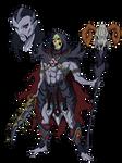 Skeletor Anime-Style redesign