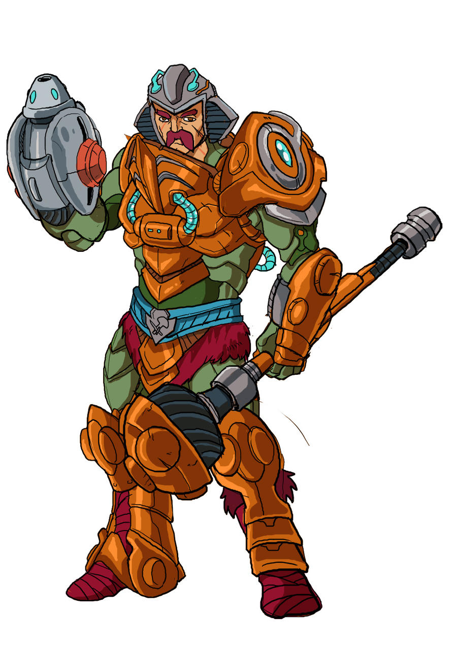 Man-at-Arms Anime Style Masters by JazylH