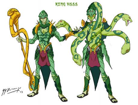 King Hsss- Anime Style Masters (MOTU)