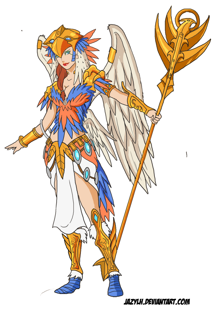 Anime Style MOTU - Sorceress by JazylH