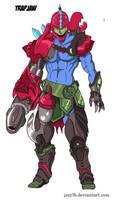 Anime Style Masters - Trapjaw by JazylH