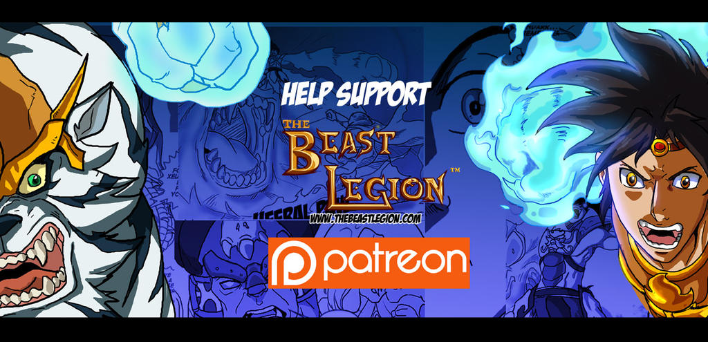 Beast Legion on Patreon by JazylH