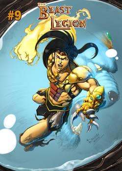 Beast Legion #9 Cover by Dheeraj Verma