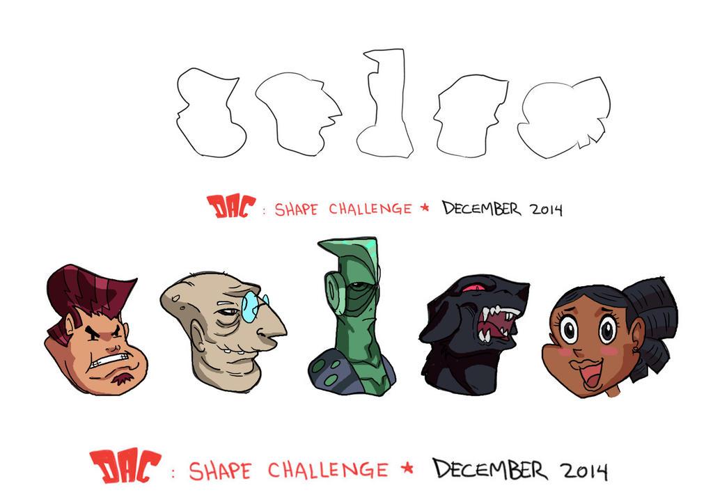 December Shape Challenge by JazylH