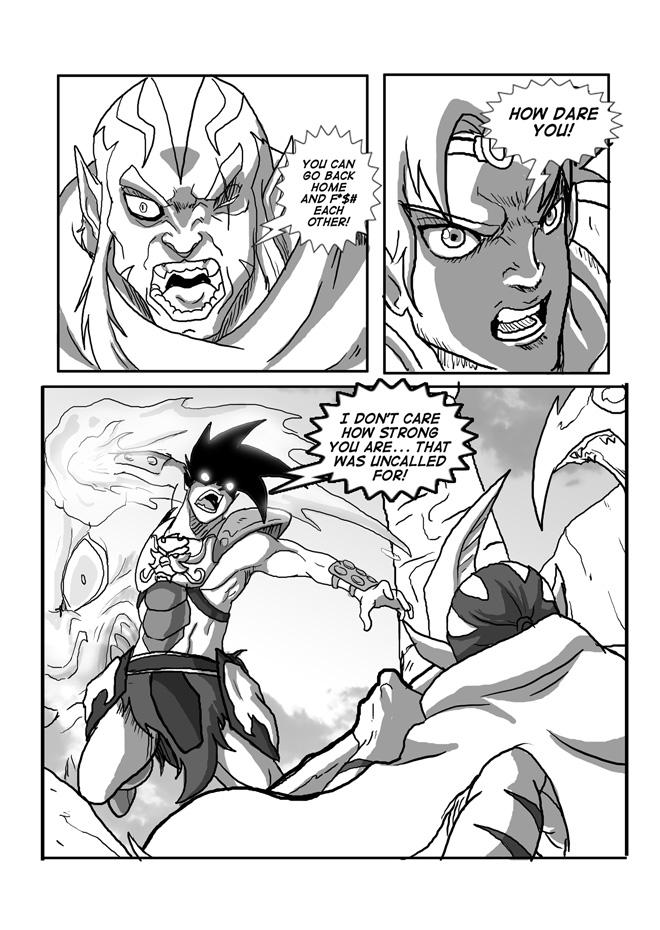 Beast Legion #11 , Page 15 by JazylH