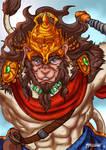 Hanuman - Mythic Heroes Portraits