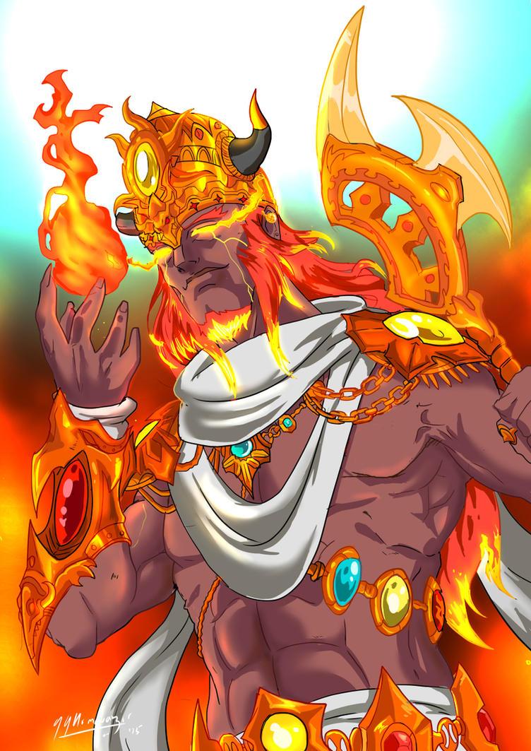 Agnideva - Anime style Indian Myths... by JazylH