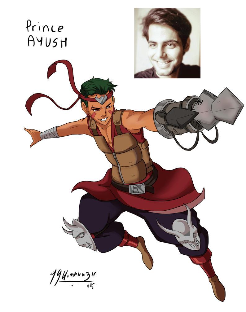 #AnimeAted Naruto OC's - Ayush by JazylH
