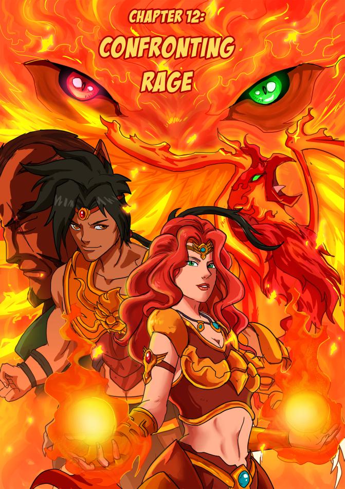 Beast Legion #12 Splash Page by JazylH