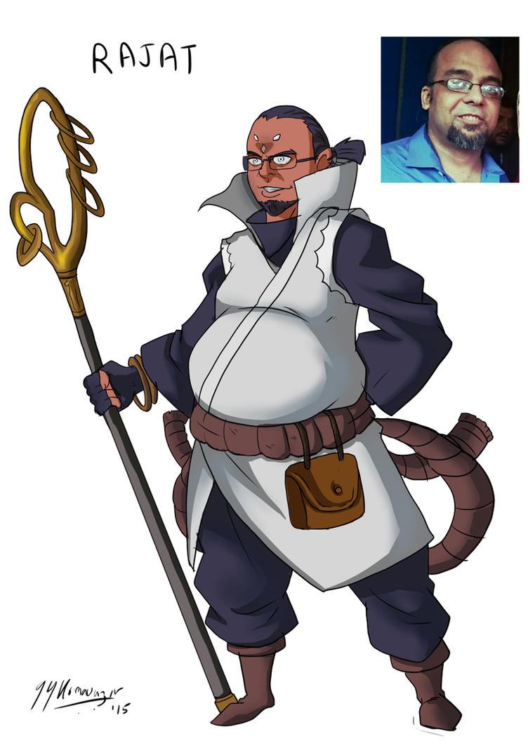 #AnimeAted Naruto OC's - Rajat by JazylH