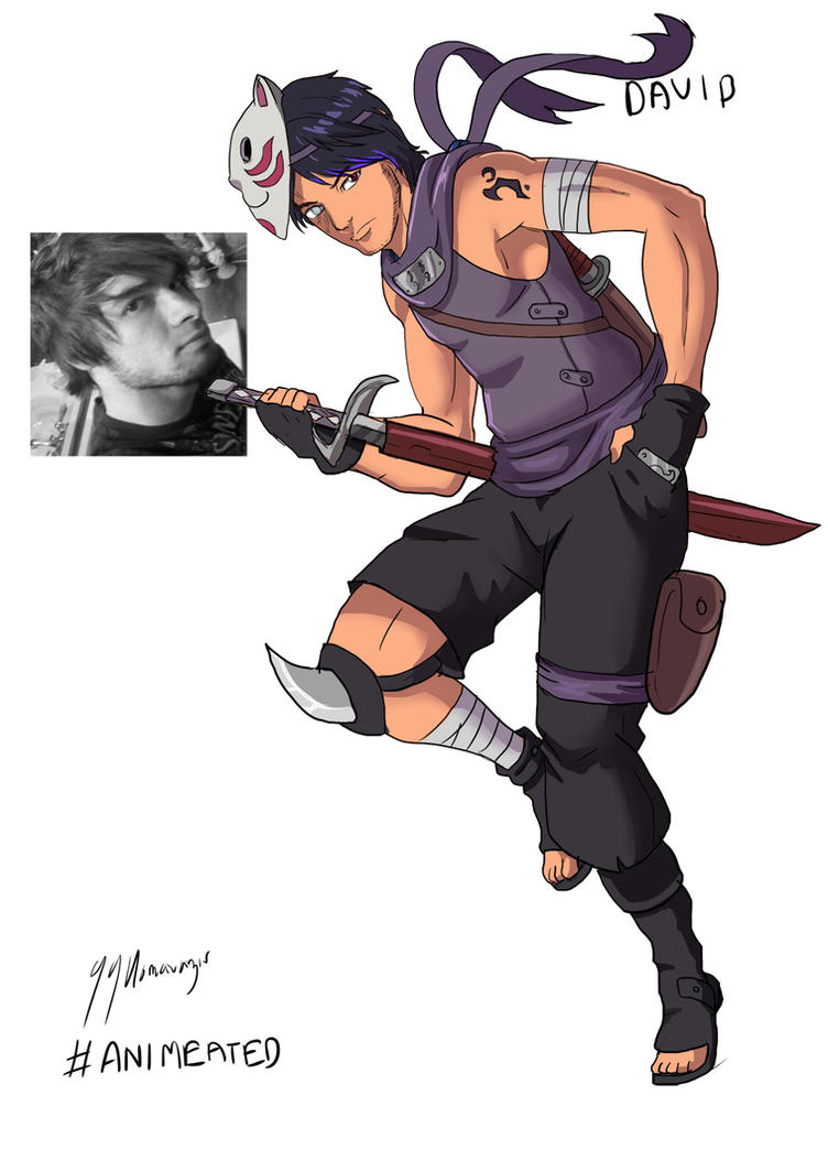 #AnimeAted Naruto OC's - David Gibbs by JazylH