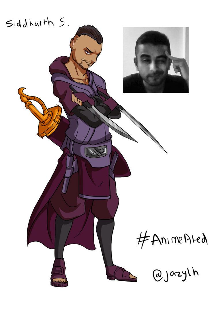 #AnimeAted Naruto OC's - Siddharth by JazylH