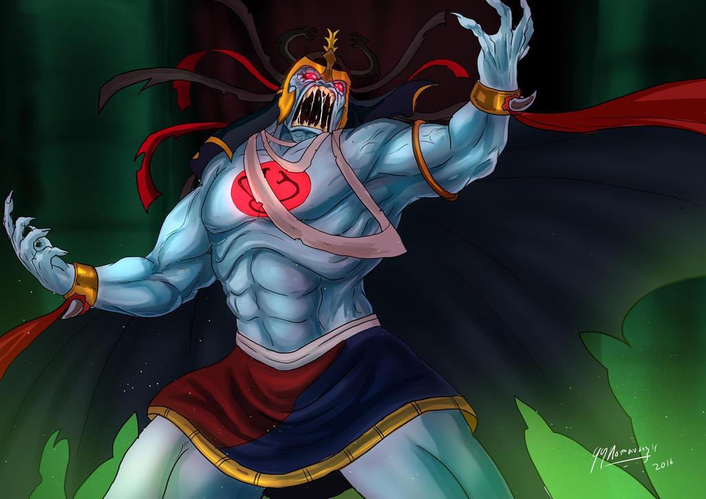 Mumm-Ra Lives! by JazylH