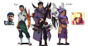 #AnimeAted Naruto OCs  Me n Best buddies