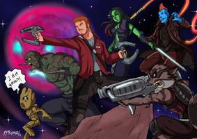 Guardians of the Galaxy 2 Fanart