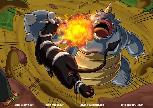 Fiery Attack