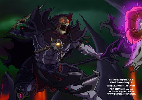 Anime Style Savage Skeletor