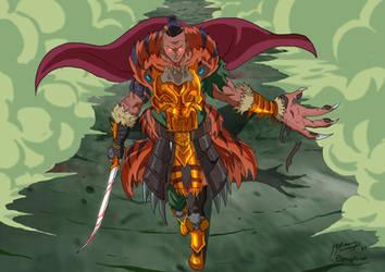 OC _ Tiger Knight Fallon by JazylH