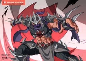Shredder Redesign Illustration by JazylH