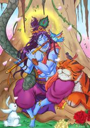 Lord Krishna The Divine