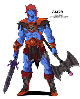 Animestyle Masters of the Universe : Faker