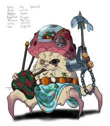 Create A Character 35: MushiKill