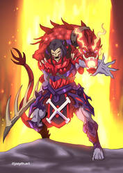 Dragon Blaster Skeletor Redesigned