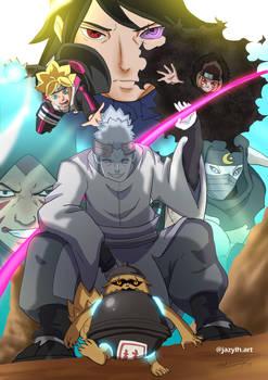 Boruto: Urashiki Arc Poster