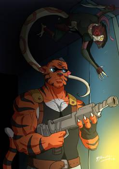 Snke Assassin Vs Tiger Guard
