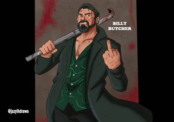 Billy Butcher Fan Art from The Boys