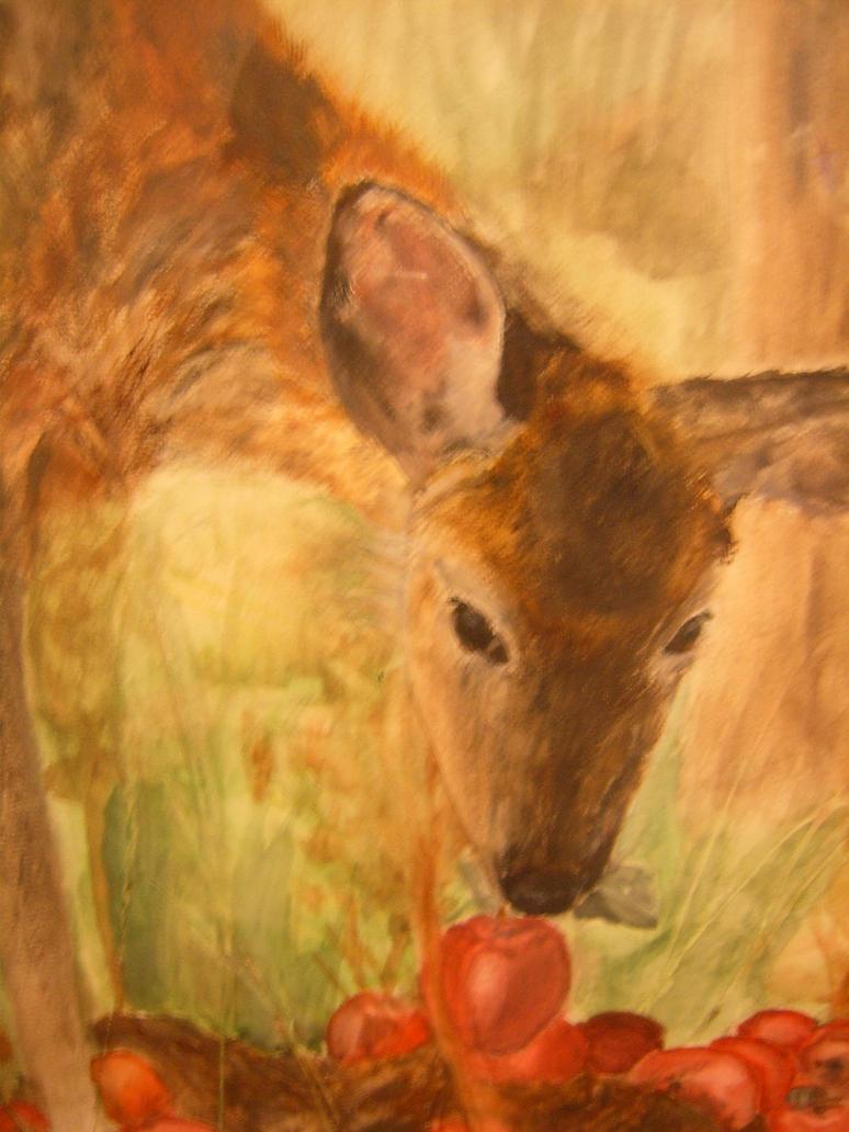 Deer by RiverOfFire