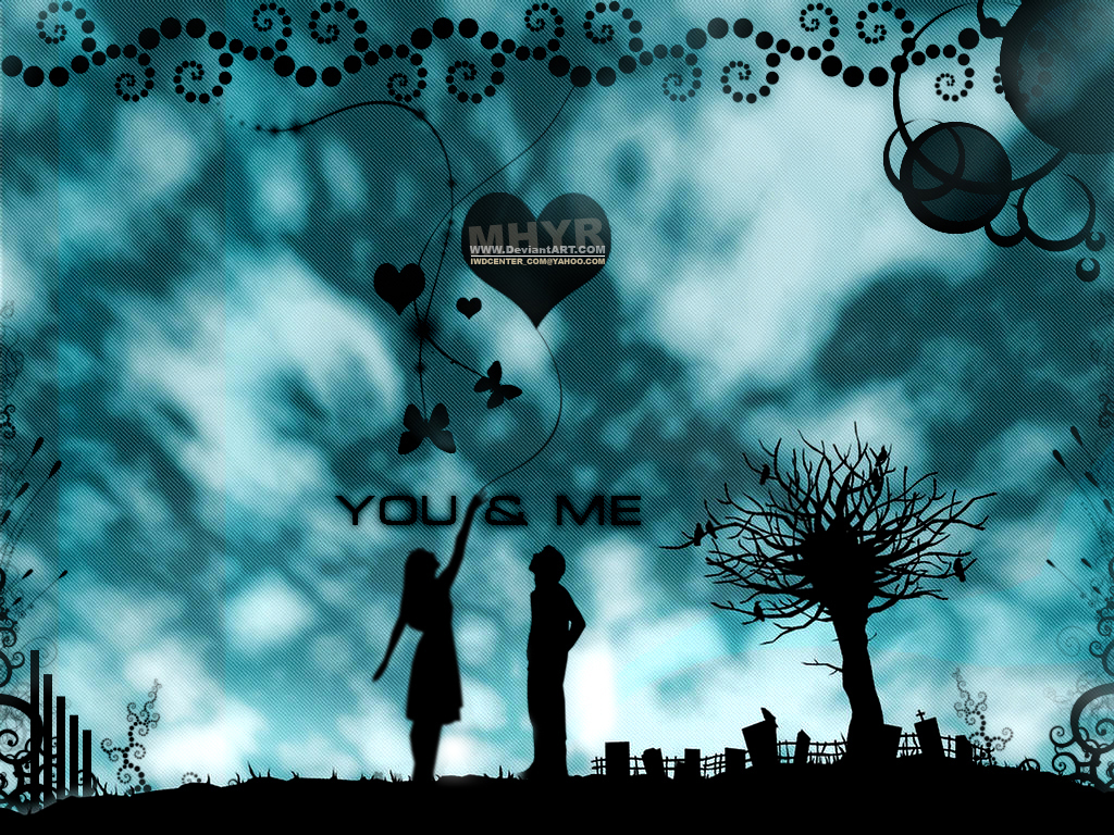 Hd wallpaper you and me - You And Me By Mhyr