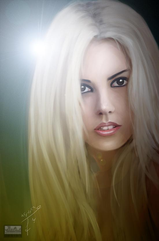 portrait by mhyr