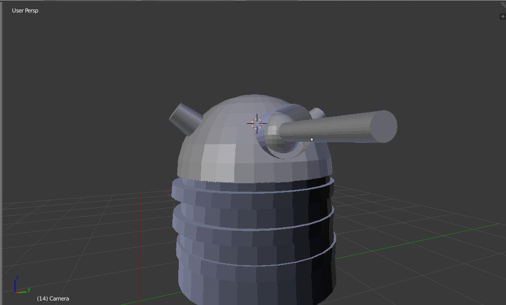 Dalek WIP - 1 by TheDragonMedic