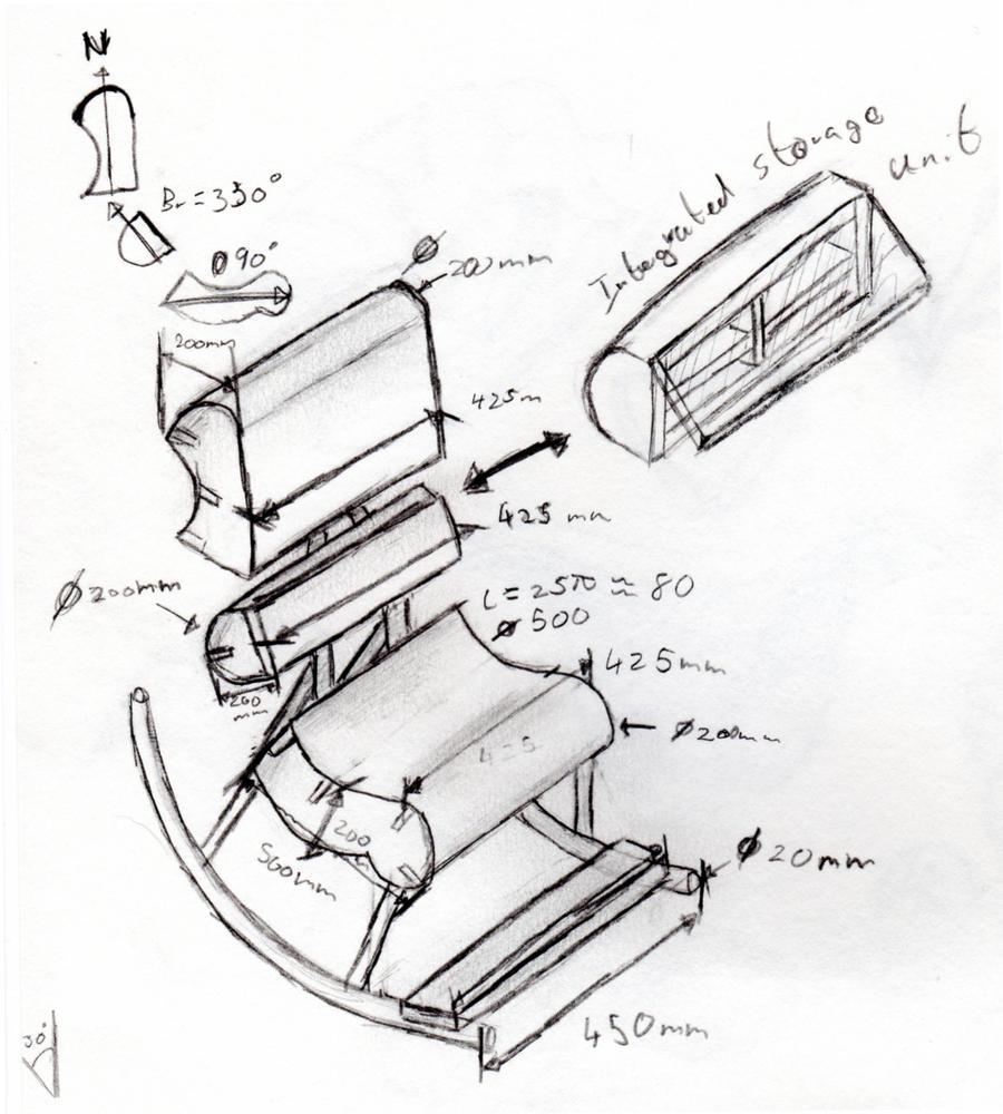 Simple Chair Sketch Rockin 39 Chair Design Sketch By