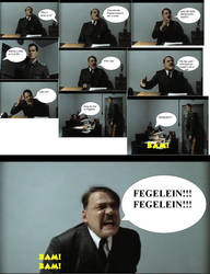 Hitler turned into a comic